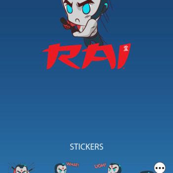 Valiant Releases Rai Emoji's For Your Phone