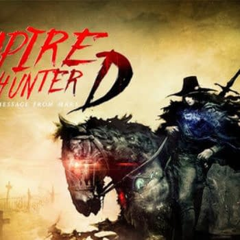 Vampire Hunter D To Receive A Message From Mars