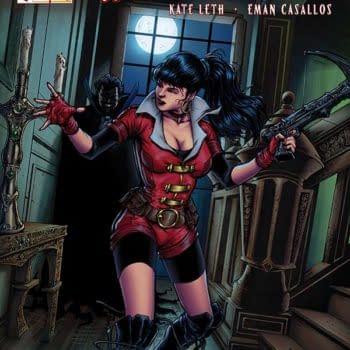 Exclusive Extended Previews Of Vampirella #4 And Xena: Warrior Princess #3