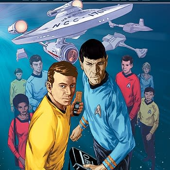 IDW To Launch Star Trek: Waypoint Series