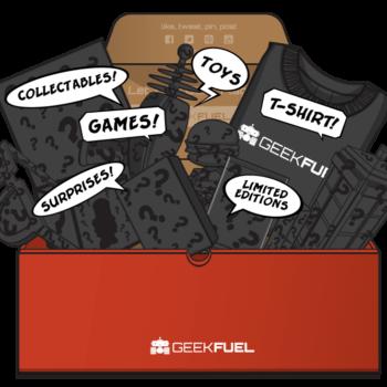 Still Shaking My Head Over June's Geek Fuel Box