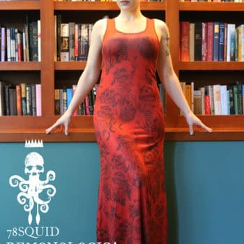 Wear Ben Templesmith's Demons Tight Against Your Skin