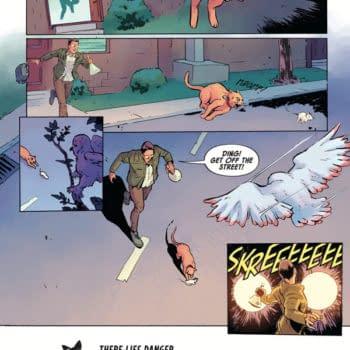 A First Look At Dark Horse's Angel Catbird (UPDATE)