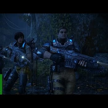 Catch 7 Minutes Of New Gears Of War 4 Story Gameplay Featuring Marcus Fenix