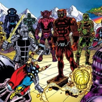 It Seems Either The Celestials Or The Eternals Featured In Thor: Ragnarok Footage