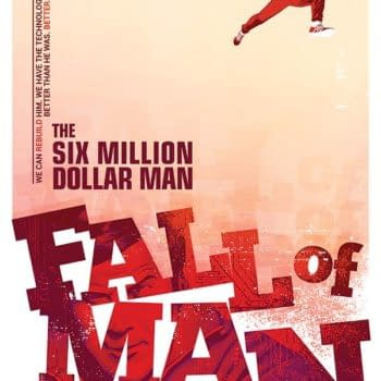 Exclusive Extended Preview Of Van Jensen's Six Million Dollar Man: Fall Of Man #1