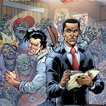 Free On Bleeding Cool &#8211 Army Of Darkness: Ash Saves Obama #1