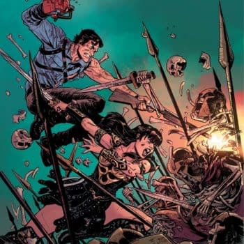 Scott Lobdell Brings Together Xena And The Army Of Darkness At San Diego