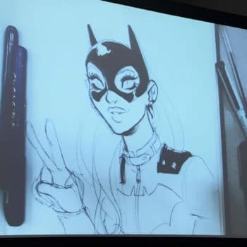 """When Babs Tarr Requested Batgirl Fight """"Video Game Douches"""" – At San Diego Comic-Con"""