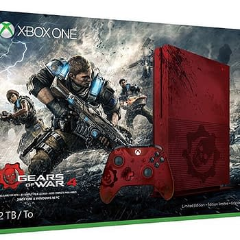 Check Out The Leaked Gears Of War Themed Xbox One S