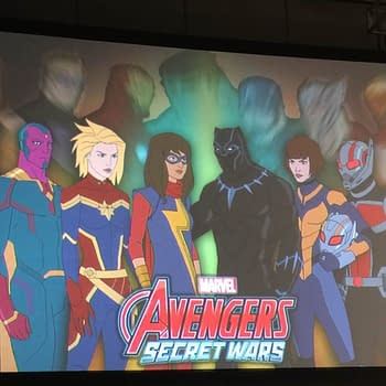 Marvel Announces Secret Wars The TV Show With Ms Marvel Captain Marvel Black Panther And Jane Fosters Thor