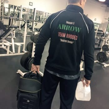 Cody Rhodes Sports Custom Arrow Season 5 Jacket