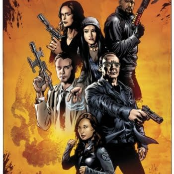 Mike Perkins' Agents Of SHIELD Poster For SDCC 2016, Complete With Ghost Rider