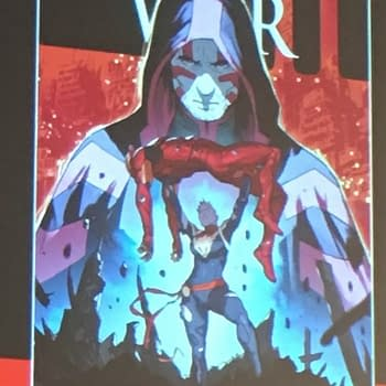Iron Man Vanquished By Captain Marvel The Civil War II Panel At San Diego Comic-Con