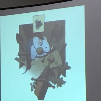 David Peterson Was Born To Draw Talking Animals Wearing Clothes and Movie News at the SDCC Mouse Guard Panel