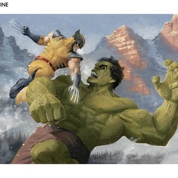 Double Dose Of Hulk Vs Wolverine Includes New Maquette And Paolo Rivera Print
