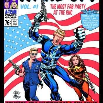 Gays For Trump Use Jim Steranko SHIELD Image For Party Poster With Ann Coulter, Pam Geller, Geert Wilders And More