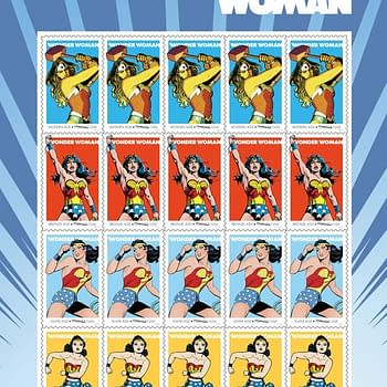 USPS To Issue Wonder Woman Stamps This October