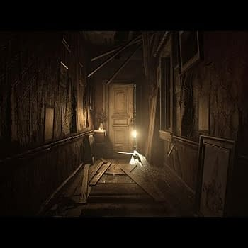 A Spooky Lady With A Lantern Stalks You In This Resident Evil 7 Footage