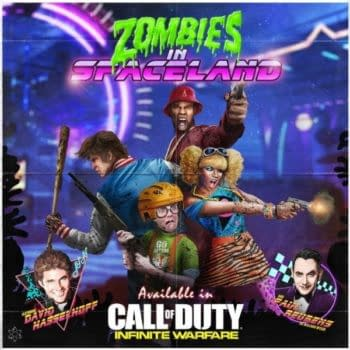 Paul Reubens, Seth Green And David Hasselhoff Are Coming To Zombies In Call Of Duty: Infinite Warfare
