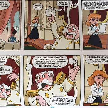 Who Knew The King From Cinderella Was Lazy Thoughts On The Disney Princess Comic