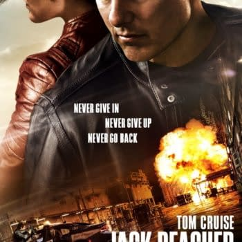 Tom Cruise And Colbie Smulders On Jack Reacher Poster