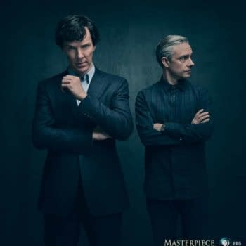 Cumberbatch And Martin In First Official Sherlock 4 Photo