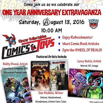 Things To Do In Southern California Tomorrow If You Like Comics
