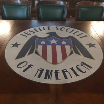 Justice Society Of America Table… That's Not From Ikea