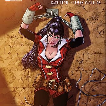 Exclusive Extended Previews Of Vampirella #6 And Six Million Dollar Man #2