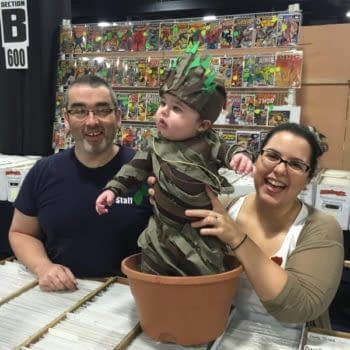 Baby Groot – The Best Cosplay From Boston Comic Con?