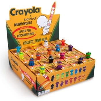 Blind Boxes I'd Actually Buy: Crayola X Kidrobot Zipper Pulls