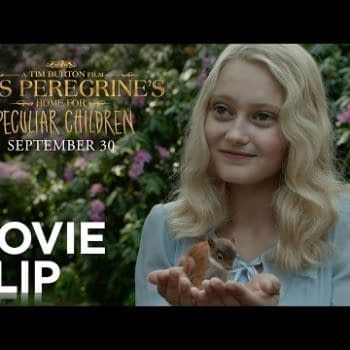 The Squirrel Falls Out Of The Tree Every Day In Miss Peregrine Clip