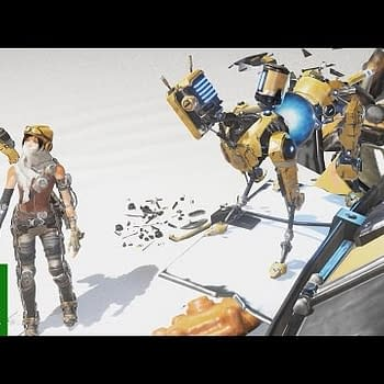 ReCore Gets A Launch Trailer Showing Off A Little Bit Of The Story And Your Robot Buddies