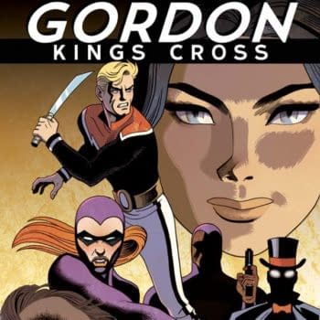 Jeff Parker On Telling A Retro Story With Modern Pacing In Flash Gordon: Kings Cross