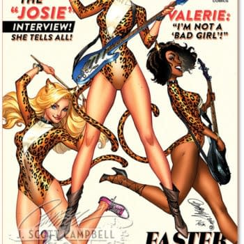 J Scott Campbell Stretches Out Josie And The Pussycats