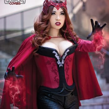 Cosplayer Yaya Han Becomes Scarlet Witch
