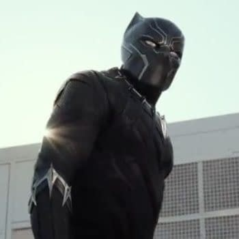 Black Panther's Suit In Civil War Was 'Completely CG'