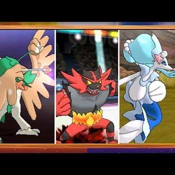 Get A Look At The Final Evolutions Of The Starter Pokemon In New Sun And Moon Trailer