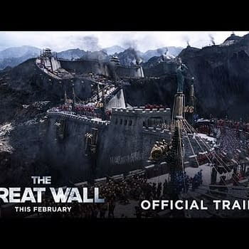 The Great Wall New NYCC Trailer &#8212 Keeping Out The Monsters Almost
