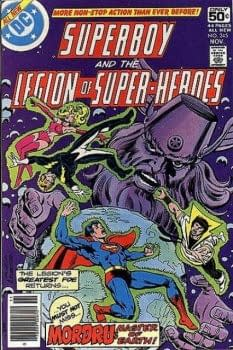 Amazon Fishing Across The Atlantic&#8230 Paul Levitz Legion Of Super-Heroes (UPDATE)