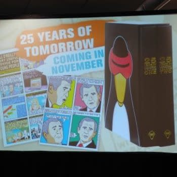 25 Years Of Tomorrow By Dan Perkins Revealed To Be Coming In April 2017 At NYCC's IDW Panel