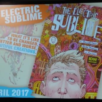 IDW Announce The Electric Sublime By W. Maxwell Prince, Martin Morazzo and May Lopes At NYCC