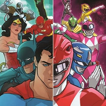 Justice League/Mighty Morphin Power Rangers By Tom Taylor And Stephen Byrne Confirmed For January 2017