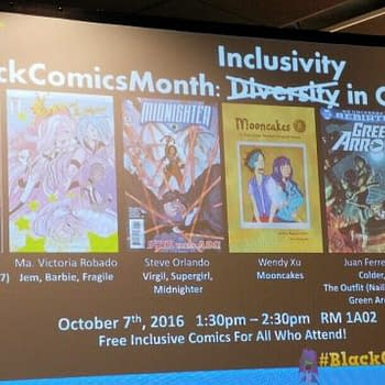 A Personal Perspective On The #BlackComicsMonth Panel At NYCC With VIDEO