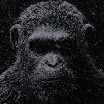 War For The Planet Of The Apes Gets A Dour 'Digital Billboard' Featuring Caesar