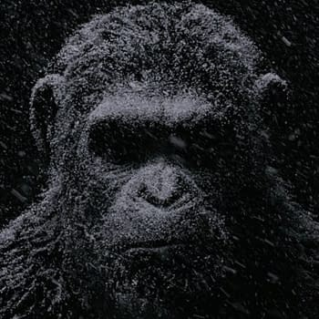 War For The Planet Of The Apes Gets A Dour Digital Billboard Featuring Caesar