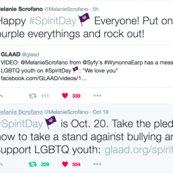 The Cast Of Wynonna Earp Takes To Social Media To Support #Spiritday