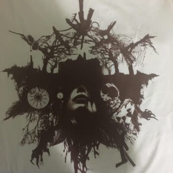 Cryptic Resident Evil 7 Shirt Still Has Us Guessing At New York Comic Con