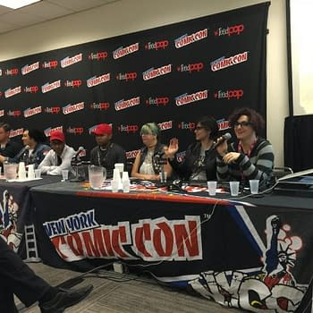 Notes From The Studio Would Ruin This &#8211 The Black Mask Studios NYCC Panel